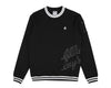 Billionaire Boys Club Spring '17 TEAM TRAINING CREWNECK - BLACK
