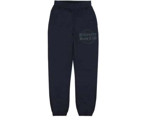 Billionaire Boys Club Fall '18 COLLEGE SWEATPANT - NAVY