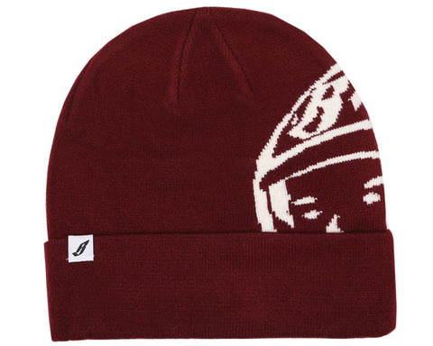 BBCICECREAM HELMET BEANIE - BURGUNDY