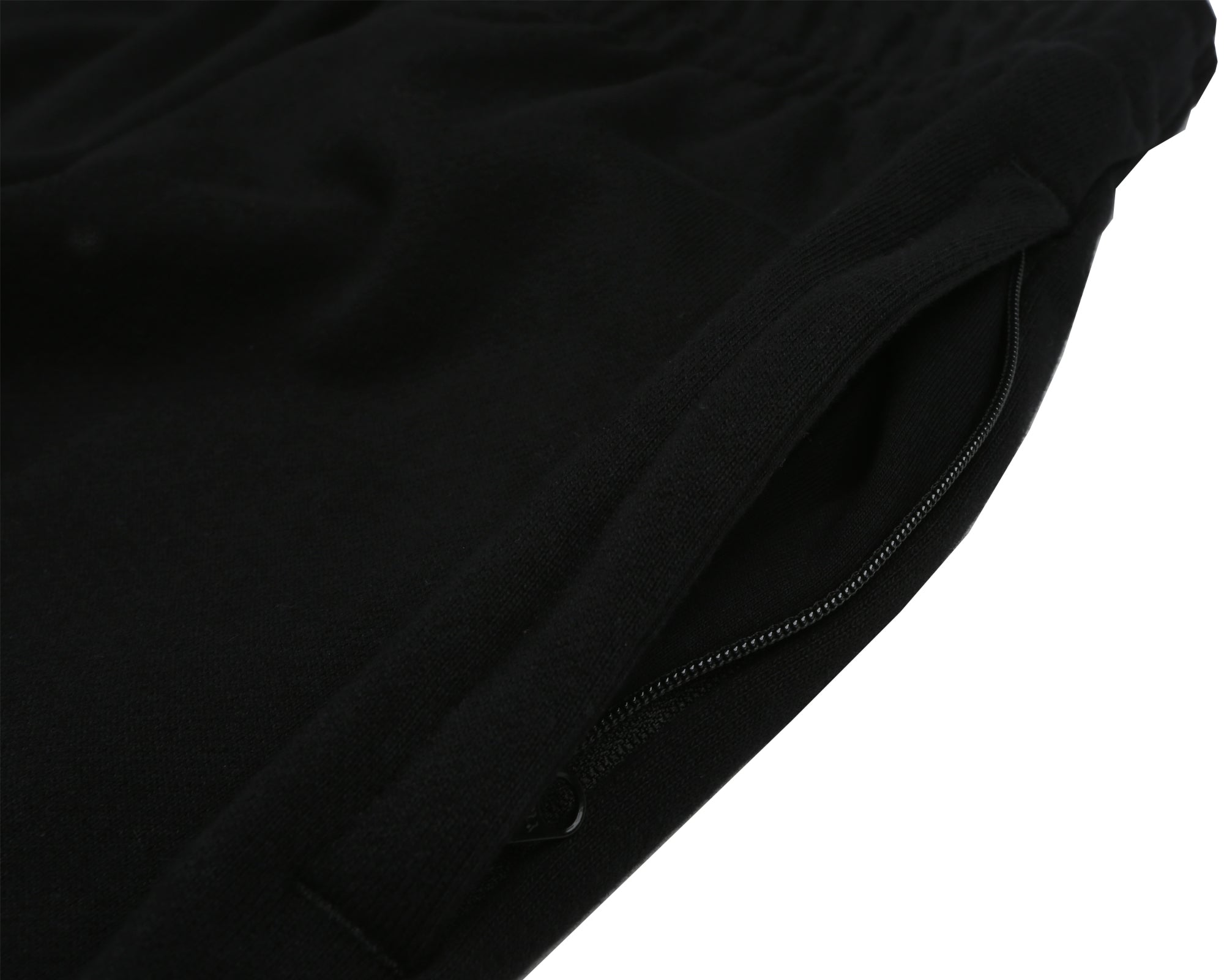 RUBBERISED LOGO SWEATPANT - BLACK