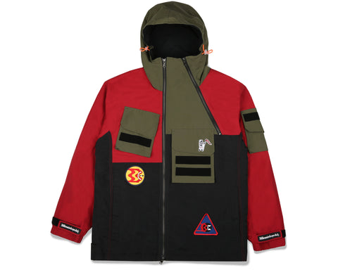 Billionaire Boys Club Fall '19 EXPEDITION TRAINING JACKET - RED