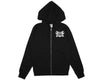 BBCICECREAM MECHANICS ZIP-THROUGH HOOD - BLACK