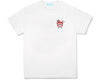 ICECREAM JAPAN X YOPPI RUNNING DOG T-SHIRT - WHITE