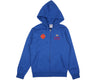 BBCICECREAM VEGAS ZIP-THROUGH HOODIE - BLUE