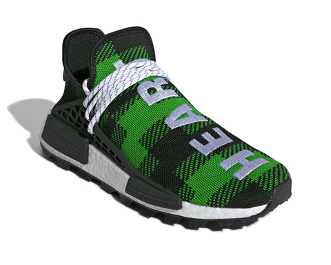 ADIDAS BILLIONAIRE BOYS CLUB HU NMD PLAID - GREEN
