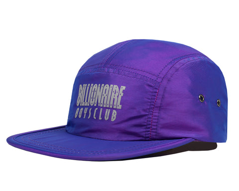Billionaire Boys Club Spring '18 REFLECTIVE LOGO NYLON CAP - PURPLE
