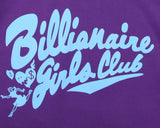 Billionaire Girls Club BGC Script Hunt Pullover - Purple