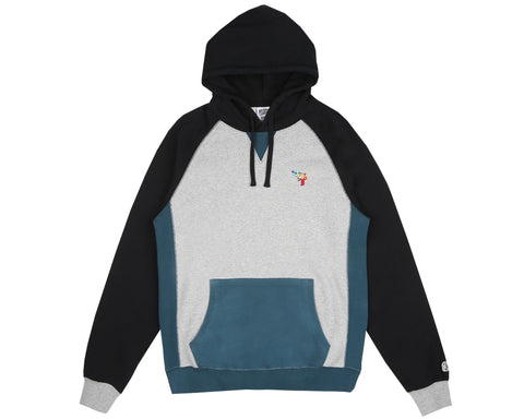 Billionaire Boys Club Pre-Spring '18 RAYGUN POPOVER HOOD - HEATHER GREY