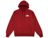 Billionaire Boys Club Classics SMALL ARCH LOGO HOODY - OVERDYED RED