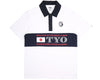 Billionaire Boys Club Pre-Spring '17 INTERNATIONAL ALLIANCE S/S POLO SHIRT - WHITE
