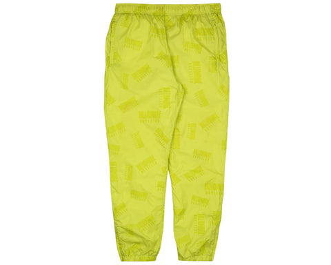 Billionaire Boys Club Pre-Spring '18 REPEAT PRINT TRACK PANT - CYBER YELLOW
