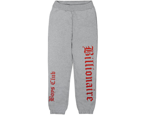Billionaire Boys Club Spring '18 ALPHA OMEGA SWEATPANT - HEATHER GREY