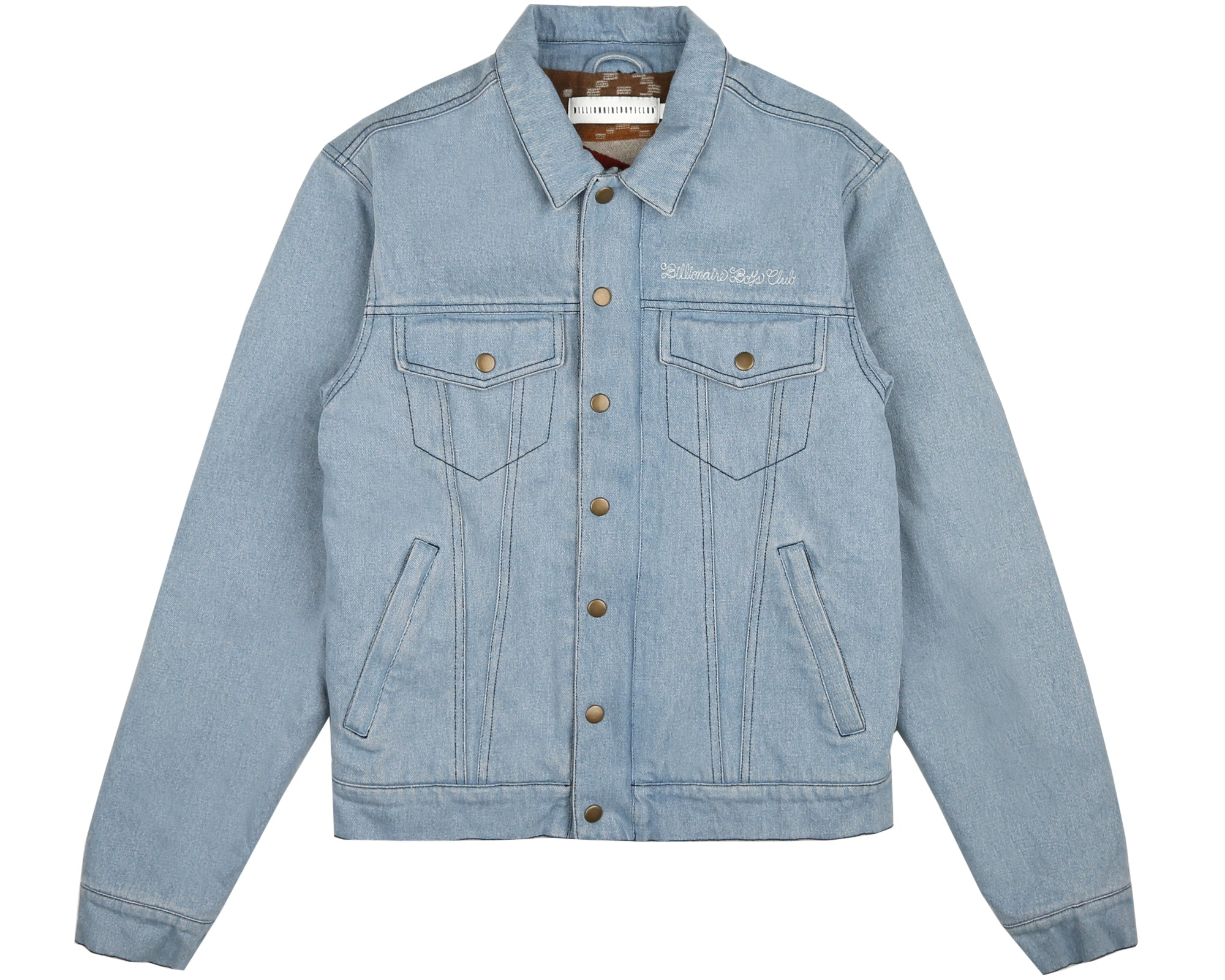 DENIM TRUCKER JACKET - DENIM