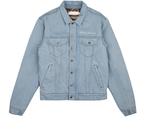 Billionaire Boys Club Spring '19 DENIM TRUCKER JACKET - DENIM