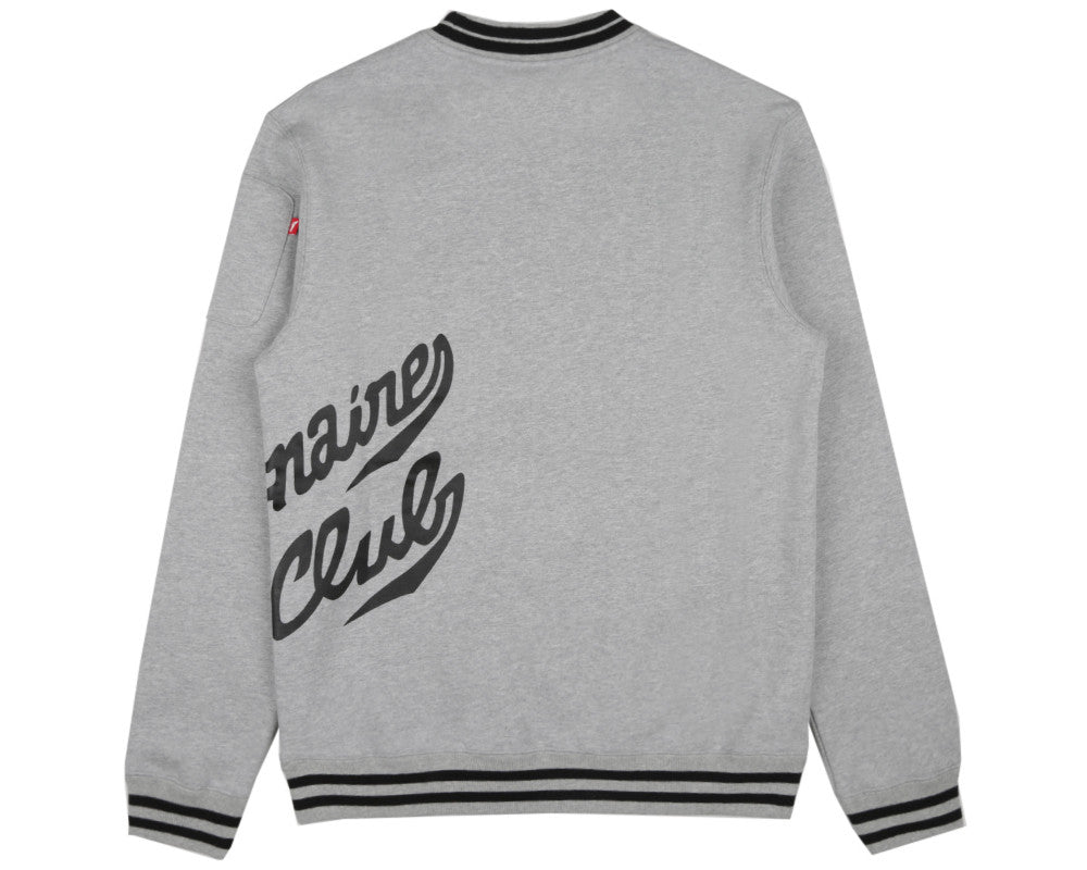 Billionaire Boys Club Spring '17 TEAM TRAINING CREWNECK - HEATHER GREY