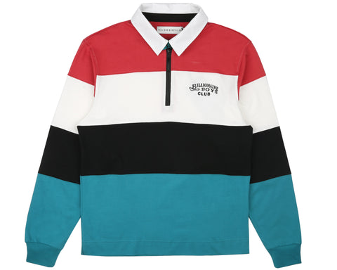 Billionaire Boys Club Pre-Fall '19 CUT & SEW RUGBY SHIRT - STRIPED