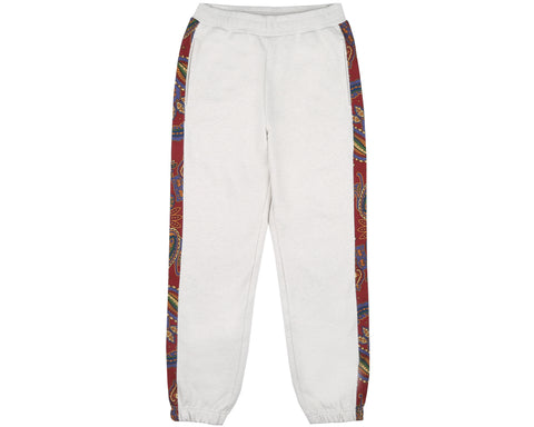 Billionaire Boys Club Fall '18 PAISLEY SWEATPANT - WHITE