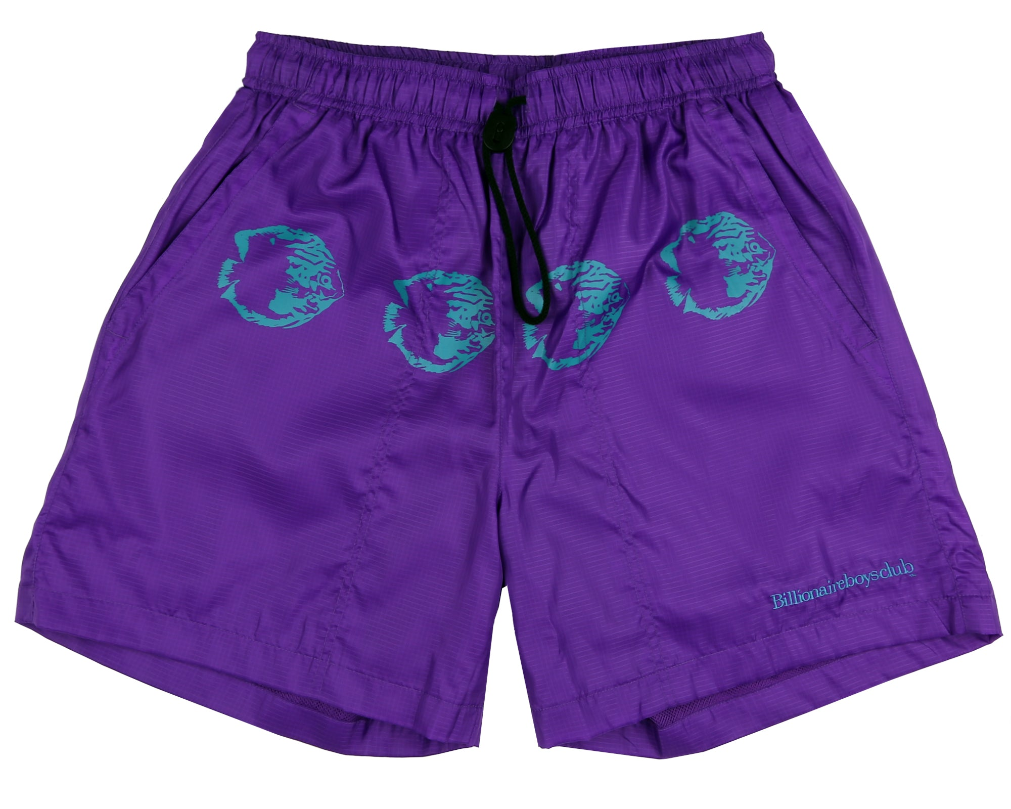 NYLON RIPSTOP SHORTS - PURPLE