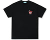 ICECREAM JAPAN X YOPPI RUNNING DOG T-SHIRT - BLACK