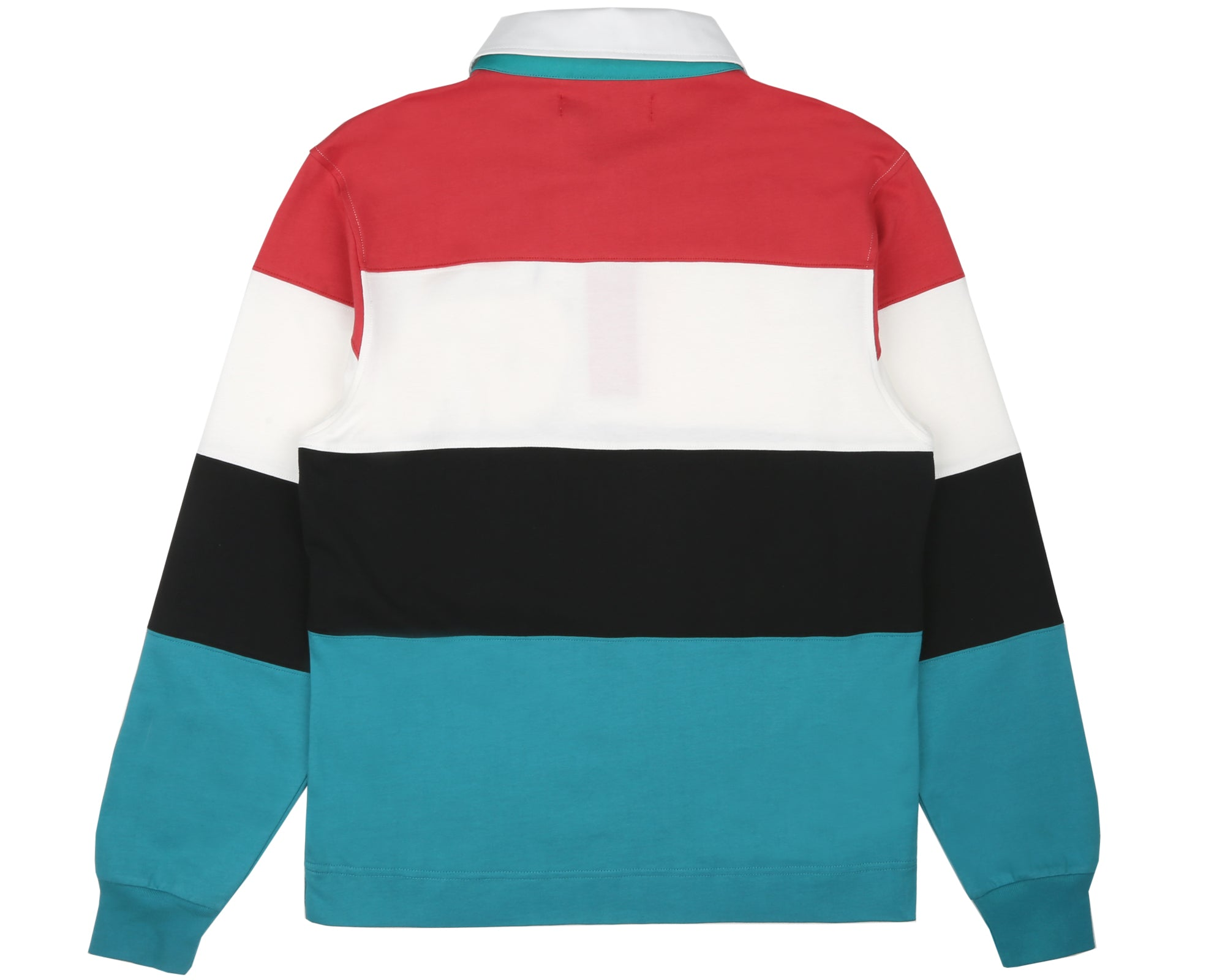 CUT & SEW RUGBY SHIRT - STRIPED