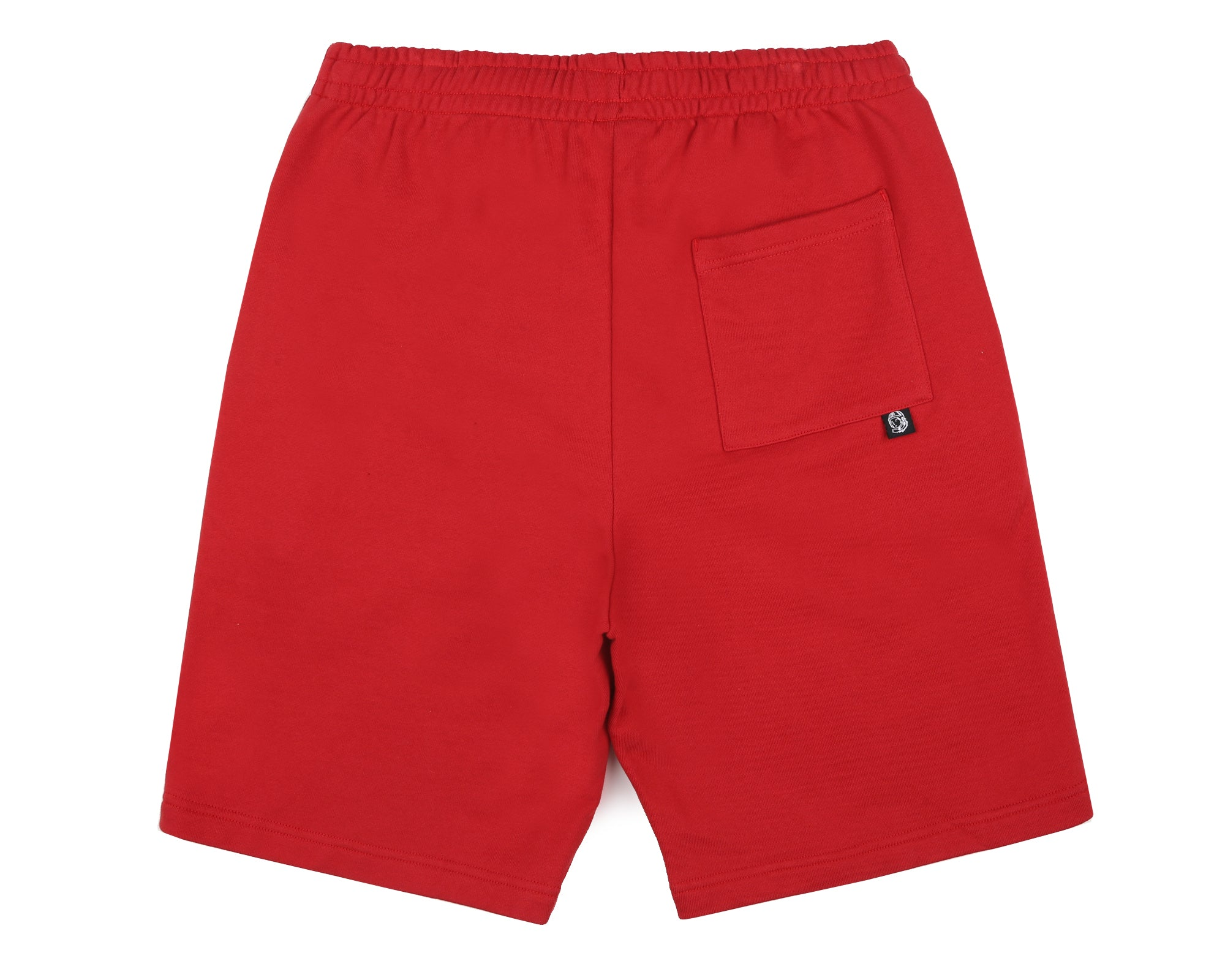 PLEATED SWEATSHORT - RED