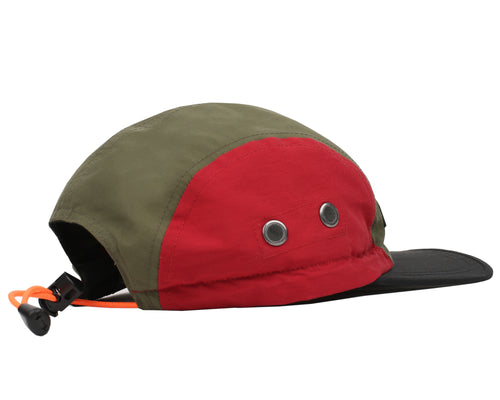 RUBBER PATCH CAP - OLIVE