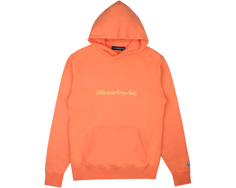 Billionaire Boys Club Pre-Fall '19 EMBROIDERED POPOVER HOOD - CORAL