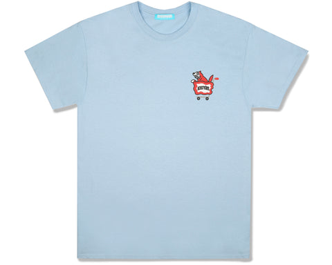 ICECREAM JAPAN X YOPPI RUNNING DOG T-SHIRT - LIGHT BLUE