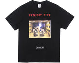 Billionaire Boys Club Fall '17 PROJECT FIRE T-SHIRT - BLACK