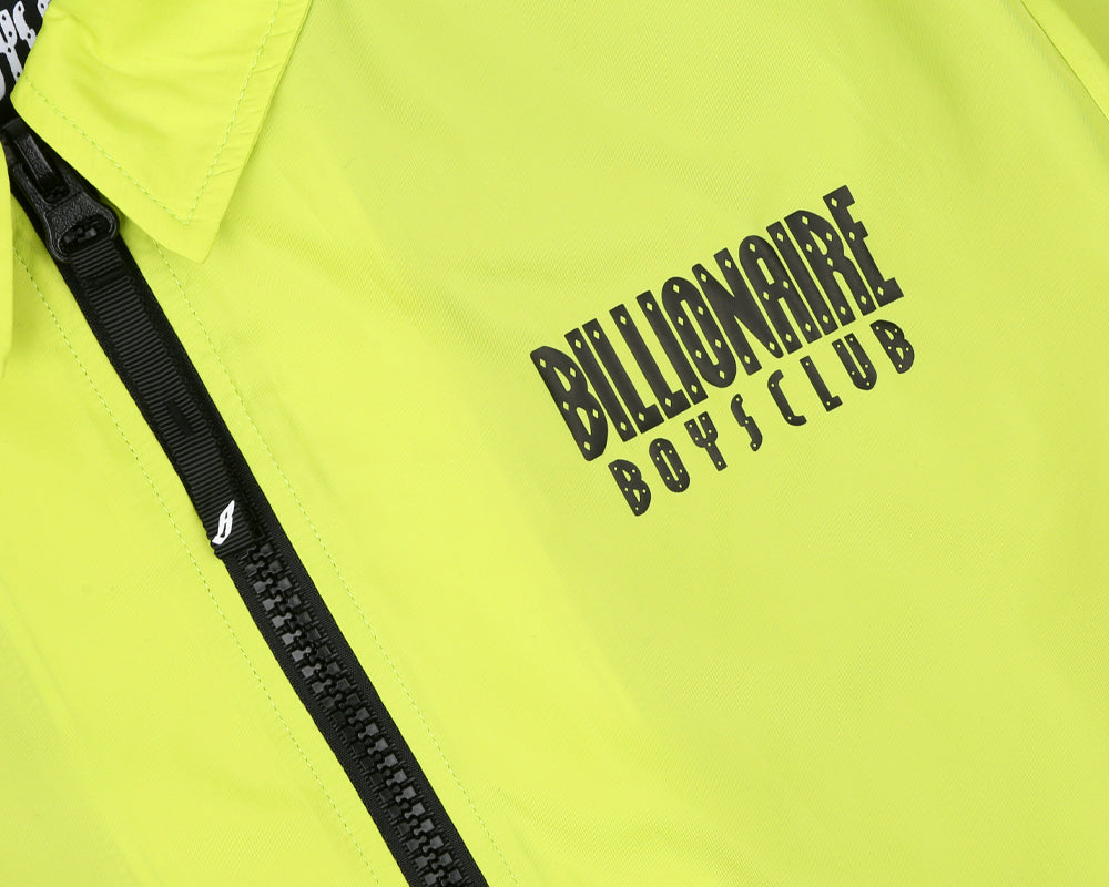 Billionaire Boys Club Pre-Spring '18 ZIP COACH JACKET - CYBER YELLOW