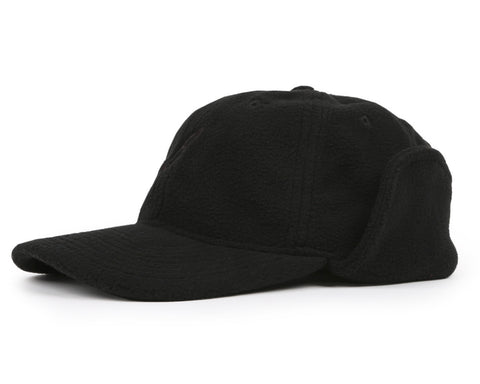 Billionaire Boys Club Pre-Spring '17 FLYING B FLEECE HUNTING CAP - BLACK