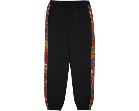Billionaire Boys Club Fall '18 PAISLEY SWEATPANT - BLACK