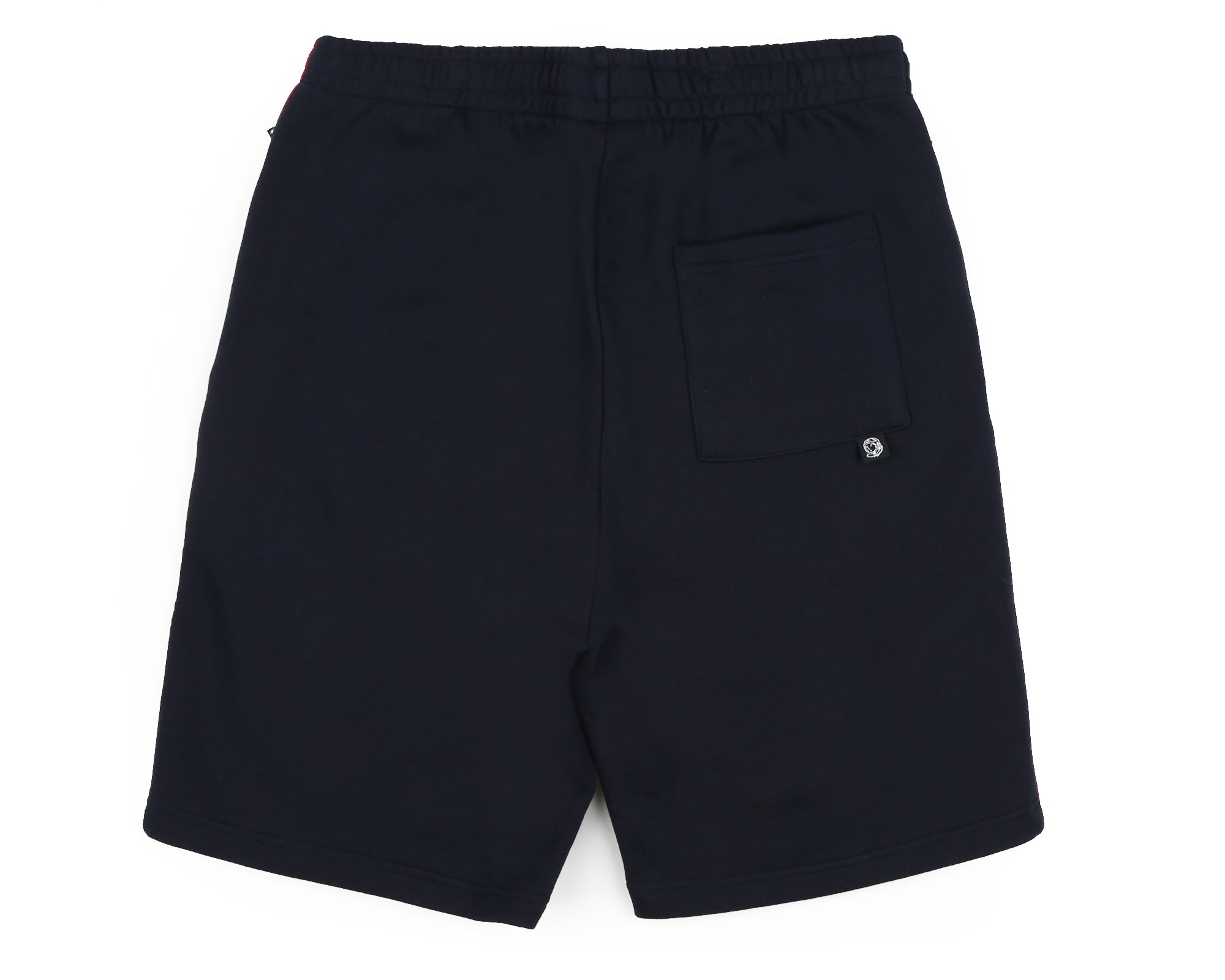 PLEATED SWEATSHORT - BLUE