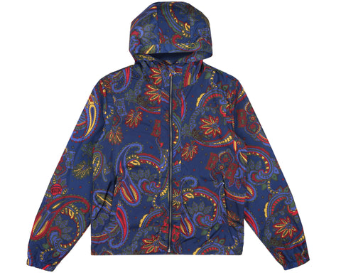 Billionaire Boys Club Fall '18 PAISLEY NYLON JACKET - NAVY