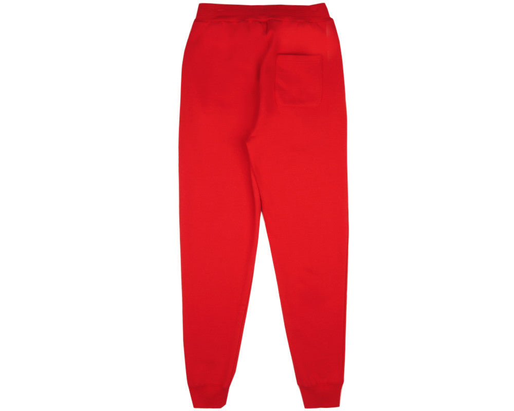 SMALL ARCH LOGO SWEATPANTS - RED