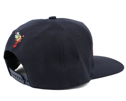 ARCH LOGO SNAPBACK CAP - DRESS BLUE