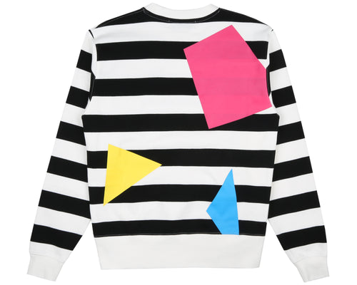 JUMBLE CREWNECK - STRIPED