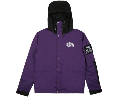 Billionaire Boys Club Pre-Fall '17 HOODED RAIN JACKET - PURPLE