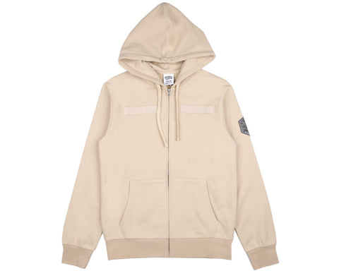 Billionaire Boys Club Spring '17 FLIGHT PATCH ZIP-THROUGH HOODIE - TAN