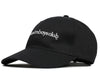 Billionaire Boys Club Fall '19 EMBROIDERED CURVE VISOR CAP - BLACK/WHITE