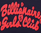 Billionaire Girls Club BGC Chaser Crewneck - Navy
