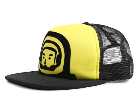 Billionaire Boys Club Fall '19 FLOCK PRINT ASTRONAUT TRUCKER CAP - YELLOW