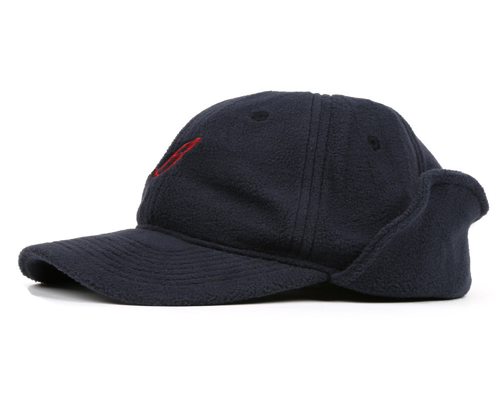Billionaire Boys Club Pre-Spring '17 FLYING B FLEECE HUNTING CAP - NAVY