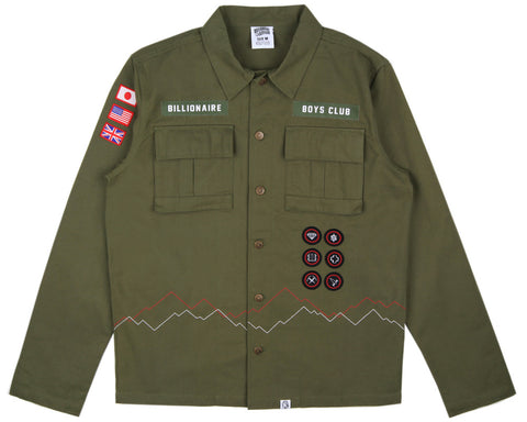 Billionaire Boys Club SCOUT SHIRT - OLIVE
