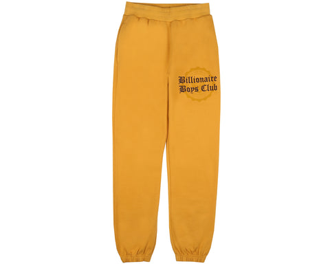Billionaire Boys Club Fall '18 COLLEGE SWEATPANT - YELLOW