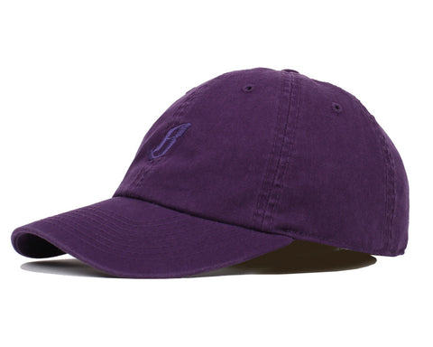 Billionaire Boys Club Pre-Fall '17 FLYING B OVERDYE CURVED VISOR - PURPLE