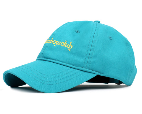 Billionaire Boys Club Pre-Fall '19 EMBROIDERED CURVED VISOR CAP - TEAL