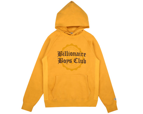 Billionaire Boys Club Fall '18 COLLEGE POPOVER HOOD - YELLOW