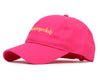 Billionaire Boys Club Pre-Fall '19 EMBROIDERED CURVED VISOR CAP - PINK
