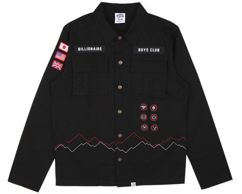 Billionaire Boys Club SCOUT SHIRT - BLACK